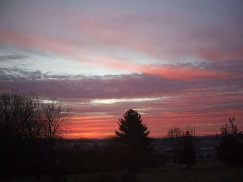 January Morning Sunrise, 2012 Palmyra, WIPhoto credit: Jane H. Johann