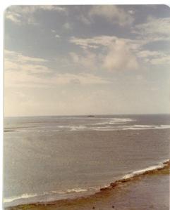 Photo Credit: c. Jane H. Johann, Indian Ocean, 1975.