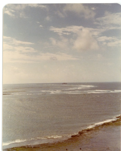 Photo Credit: c. Jane H. Johann, Indian Ocean, 1975.