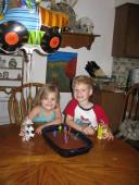 Ayden on his 6th Birthday with his sister, Nadia, 4... 2013