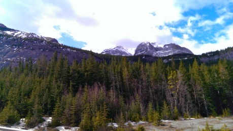 Rocky Mountains in Banff, Alberta, Canada
