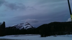"Banff, Alberta, Canada, April, 2014...""The Night"" Photo Credit: Jane H. Johann C. 2014"