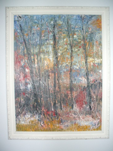 """The Woods"" c.1993 Jane H. Johann"