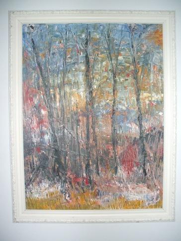 """The Woods"" c.1993 Jane H. Johann"