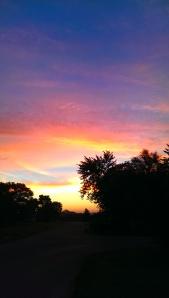 "COPYRIGHT. ""Looking East II"" Photo Credit: c. Jane H. Johann, September 24, 2014.  Artwork: God"