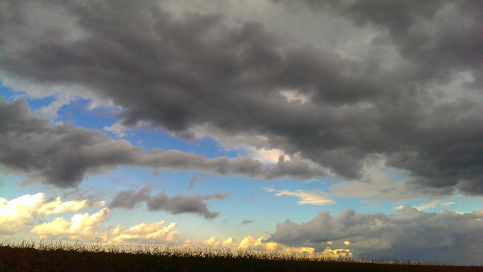 """Clouds of Flight"" Photo Credit: Jane H. Johann, near Palmyra, WI. Sept. 12, 2015"