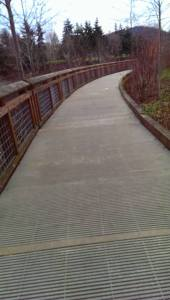 Copyright ©Jane H. Johann, 2016 Walkway along Whatcom Creek.
